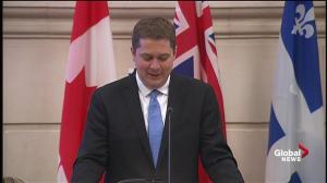Scheer promises to repeal carbon tax, commit airforce to ISIS fight