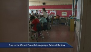 Supreme Court of Canada ruling on French-language schools