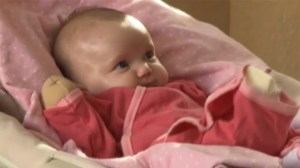 Baby with rare skin disease makes her untouchable
