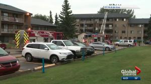 Fire crews respond twice to west Edmonton apartment