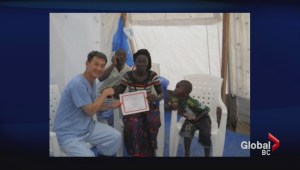 Victoria Ebola doctor returns from Africa