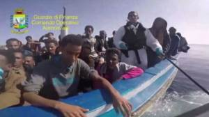 Approximately 6800 migrants rescued over weekend