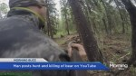 Bear killing video sparks outrage