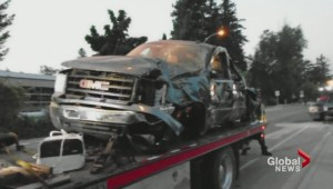 Driver of stolen pickup killed in Vernon collision