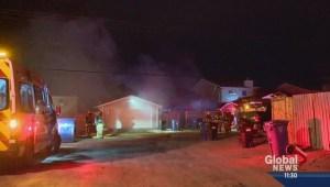 House fire in Erin Woods