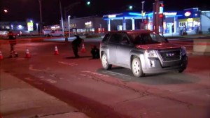 Pedestrian injured in Lasalle collision