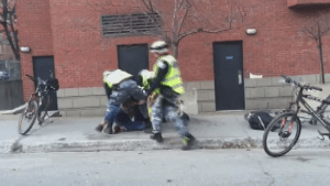 Montreal Police investigating video of alleged aggressive arrest