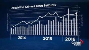 Police blame slumping economy, new drugs for increase in Calgary crime