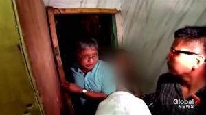 """Secret room"" discovered at police station in Manila"
