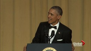Obama kills it in his last White House Correspondents' Dinner