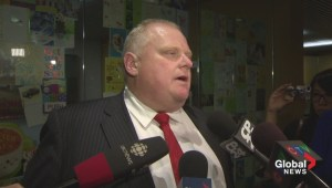 Rob Ford back at City Hall, grateful for letters of support