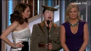 Margaret Cho portrays North Korean character on Golden Globe Awards