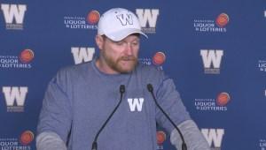 RAW: Winnipeg Blue Bombers Mike O'Shea – Sept 20