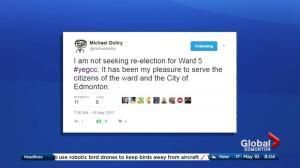 Coun. Michael Oshry won't seek re-election