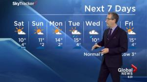 Edmonton Weather Forecast: May 1