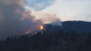 RAW Global Okanagan Newshawk footage of the Smith Creek fire