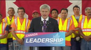 Stephen Harper announces plan to introduce permanent Home Renovation tax credit if re-elected