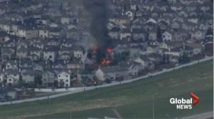 Huge fire breaks out in Evanston