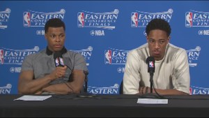 Raptors' Kyle Lowry says the Cavaliers beat them fair and square after playoff elimination