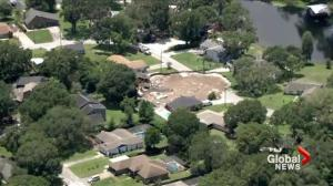 Recovery efforts underway after massive sinkhole opens in Florida