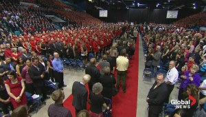 Families of fallen officers arrive at RCMP memorial service