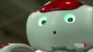 Robots helping children cope with a trip to doctor