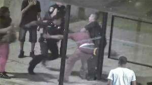 Baltimore cop viciously beats man in public, incident caught on tape