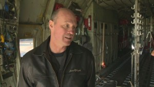 Inside a C-130 Hercules on Global News Morning