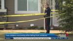 2 children injured in Wednesday window falls