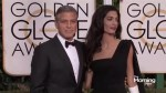George and Amal have twins