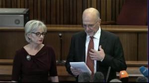 Uncle of Oscar Pistorius thanks judge for culpable homicide verdict
