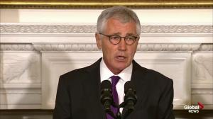 Extended: U.S. Defense Secretary Chuck Hagel resigns