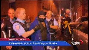 Richard Henry Bain guilty of second-degree murder