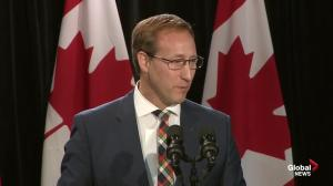 Peter MacKay thanks Stephen Harper