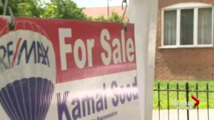 Real estate prices in Toronto have shot up 13 per cent