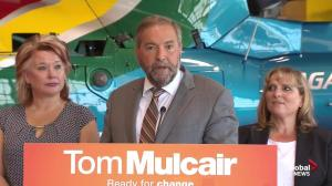 Mulcair says NDP will invest in tourism to 'recapture' U.S. market