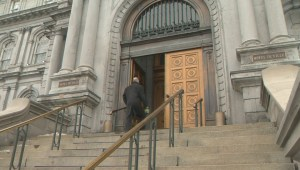 RAW: Montreal city hall security upgrade