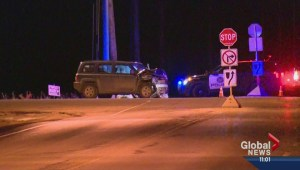 Two children and father in serious crash in Spruce Meadows