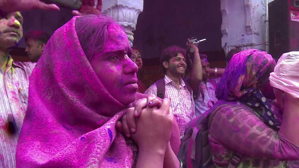 Holi celebrated with traditional zeal