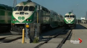 GO transit fares going up by an average of 5 per cents