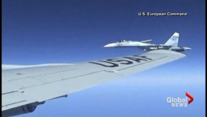 U.S. releases dramatic series of photos of reconnaissance plane's encounter with Russian jet