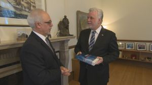 Quebec budget 2017 presented to Premier Philippe Couillard