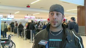Traveler at Halifax airport recounts moments after AC Flight 624 crashed