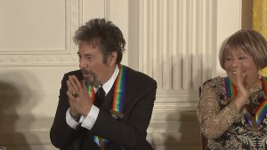 Al Pacino among those honoured at White House Kennedy Center Reception