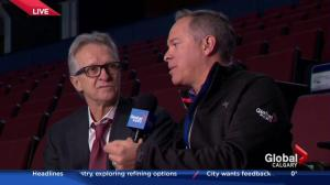 Live on location at the Saddledome: Calgary Flames ticket sales