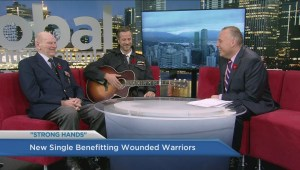 New single 'Strong Hands' benefits Wounded Warriors