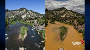 Massive toxic waste spill poisons two rivers in Colorado