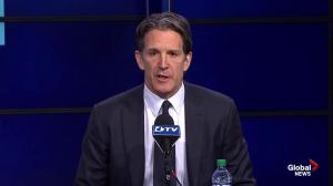Brendan Shanahan welcomes Mike Babcock as 30th head coach of the Toronto Maple Leafs