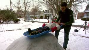 Cool dad builds amazing luge track in yard