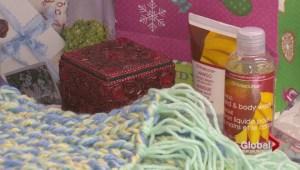 Knitting for the homeless